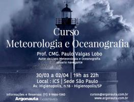 Curso Meteorologia e Oceanografia