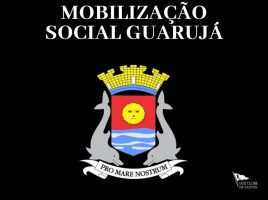 Mobilização social Guarujá