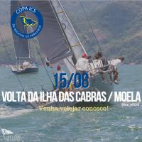 Copa ICS: Regata com rastreamento de barcos