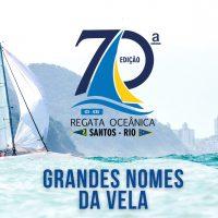 Outros importantes nomes da vela confirmam participação na 70ª Santos-Rio