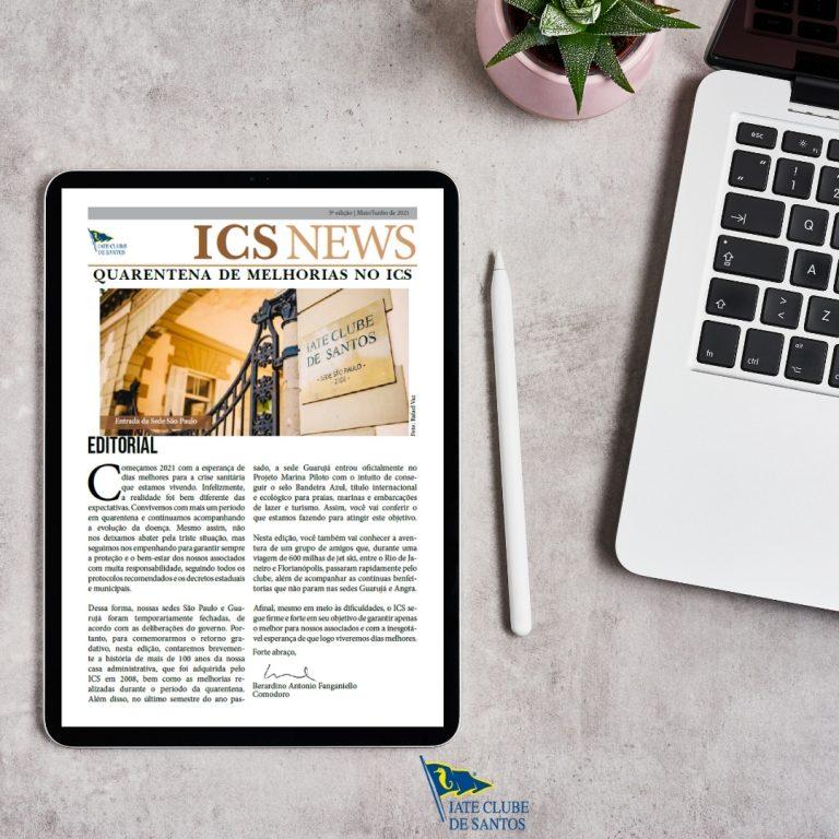 Nova edição do ICS News