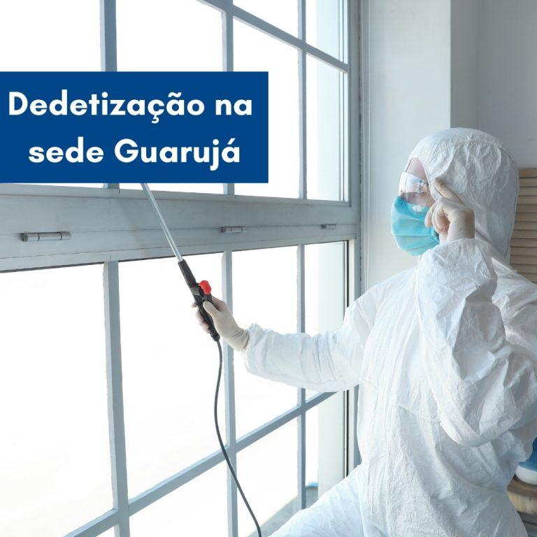 Dedetização dos flats na sede Guarujá