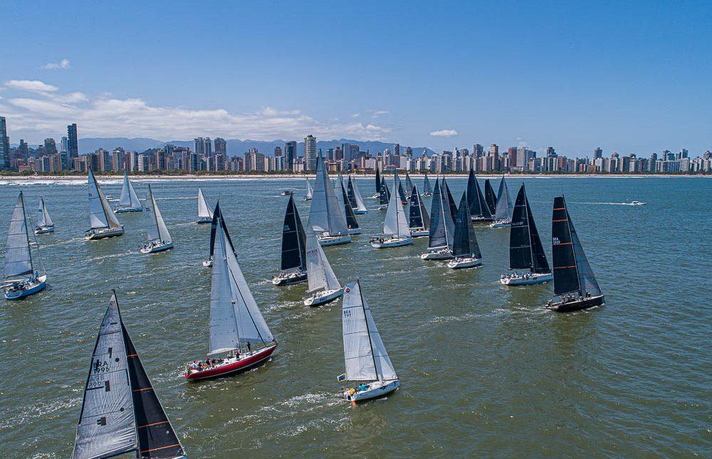 """Regata Santos-Rio: Pier da Ponta da Praia será """"arquibancada"""" para desfile de barcos"""